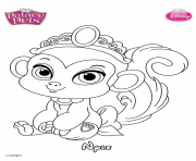 Coloriage nyle princess disney