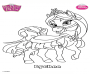 Coloriage palace pets lychee disney