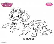 bayou disney dessin à colorier