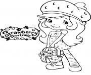 fraisinette dessin dessin à colorier