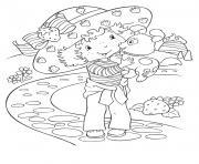 dessin de fraisinette ancien dessin à colorier