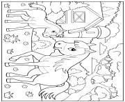 Coloriage Ferme Maternelle.Coloriage Enfants A Imprimer Dessin Sur Coloriage Info
