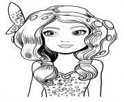 Coloriage mia et moi onchao dessin