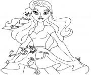 Coloriage Supergirl Super Hero Girls dessin