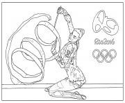 Coloriage medailles olympiques or argent bronze dessin