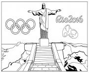 Coloriage anneaux olympiques olympic rings dessin