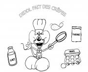 Coloriage diddl galupy dessin