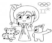 Coloriage rio 2016 jeux olympiques statue christ redempteur rio de janero dessin