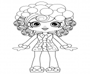 Coloriage Bubbleisha