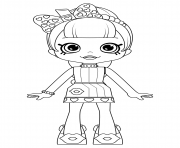 Coloriage Cute Shoppies Doll Lippy Lulu Coloring