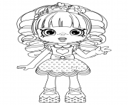 Coloriage Rainbow Kate Shopkins Dolls