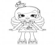 Coloriage Kirstea Shoppies Doll