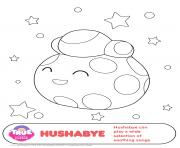 Hushabye 1 true and the rainbow kingdom dessin à colorier