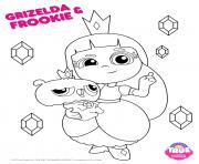 Coloriage Grizelda Frookie 1 true and the rainbow kingdom