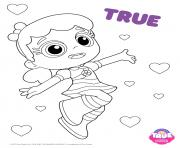 Coloriage True 1 true and the rainbow kingdom