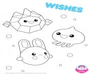Wishes 1 true and the rainbow kingdom dessin à colorier