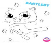 Coloriage Bartleby 1 true and the rainbow kingdom