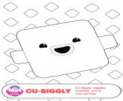 Coloriage Cu Biggly 1 true and the rainbow kingdom
