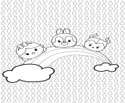 Coloriage Tsum Tsum Full Page Coloring