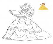 Coloriage Princesse Disney à Imprimer Gratuit Sur Coloriageinfo