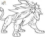 Coloriage Pokemon Solgaleo Gx Dessin