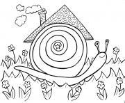 Coloriage Descargot.Coloriage Escargot A Imprimer Gratuit Sur Coloriage Info