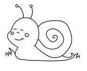 escargot minion dessin à colorier
