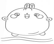 dessin kawaii molang dessin à colorier