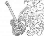 coco disney guitare de miguel par bimbimkha dessin à colorier