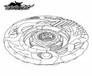 Coloriage beyblade 13