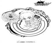 Coloriage beyblade 4
