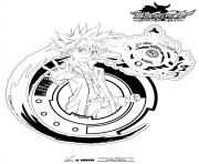Coloriage beyblade 3