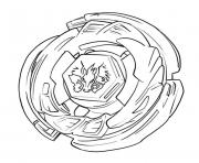 beyblade valtryek dessin à colorier