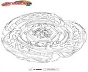 Coloriage beyblade drago destructor