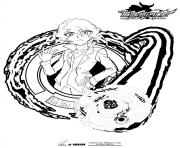 beyblade Zyro Zyro Shinobu dessin à colorier