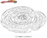 beyblade metal fusion drago dessin à colorier