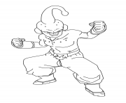 Coloriage super boo dbz