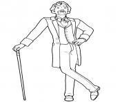 louis merante de ballerina dessin à colorier
