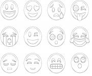 Coloriage emoji ios new list