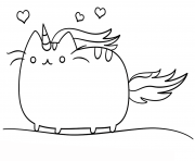 Coloriage kawaii cat