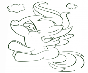 Coloriage scootaloo kawaii