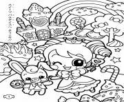 kawaii kawaii dessin à colorier