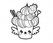 Coloriage Kawaii Nutella A Imprimer.Coloriage Kawaii A Imprimer Gratuit Sur Coloriage Info