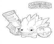 Coloriage skylanders Trapteam Snap Shot Food Fight Food Fight