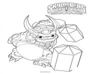 Coloriage skylanders Trap Team Wallop