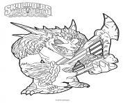 skylanders Trap Team Wolfgang dessin à colorier