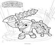 skylanders flip wreck dessin à colorier