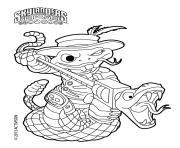 skylanders Roller Brawl Rattle Shake dessin à colorier