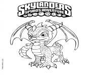 skylanders spyro adventure dessin à colorier