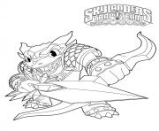 skylanders trap team wildfire snap shot dessin à colorier